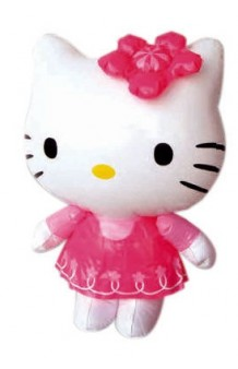 Hello Kitty Hinchable, 46 cm. AGOTADO.