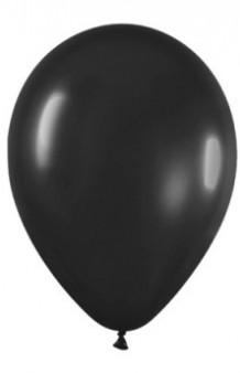 Globos Negros 95 cm. Pro-Quality, 10 uds.