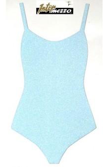 Maillot Ballet Azul Celeste