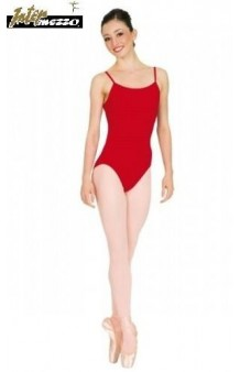 Maillot Ballet Rojo 7-8 años