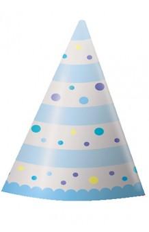 Gorro Cartón Azul Baby Boy