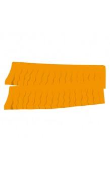 Fleco Naranja Plástico, 25 m.