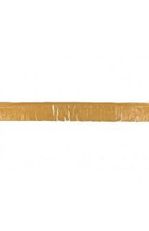 Fleco Dorado Plástico, 25 m.