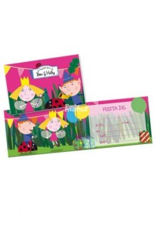 Invitaciones Ben&Holly, 6 uds.