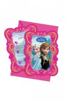Invitaciones Frozen, 6 uds.