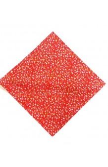 Pañuelo Rojo Flores Fallas