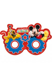 Antifaces Mickey Mouse, 6 uds.