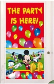 Banner Mickey Mouse, 152 x 76 cm.
