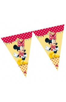 Banderines Minnie Mouse, 230 cm.