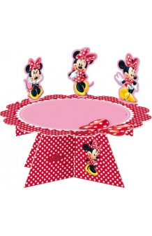 Stand Mesa/Cupcakes Minnie Mouse, 32 cm.