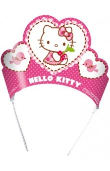 Tiaras Hello Kitty, 6 uds.