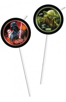 Pajitas Star Wars, 6 uds.
