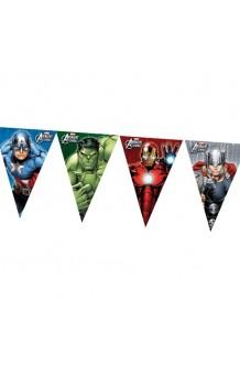 Banderines Vengadores, 230 cm.