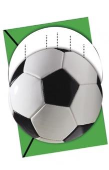 Invitaciones Fútbol, 6 uds.