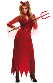 Disfraz Diablesa Elegante