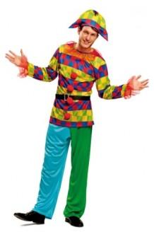 Disfraz Arlequín Colores