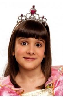 Diadema Princesa Rosa