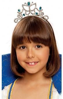 Diadema Princesa Azul
