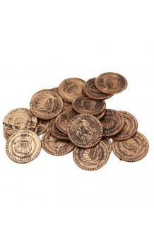 Set 16 Monedas Piratas