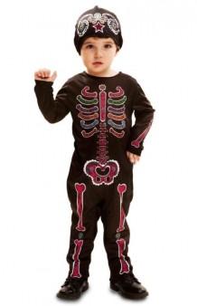 """Disfraz Esqueleto Colores """"Día de los Muertos"""""""