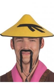 Sombrero Chino Cono Fieltro