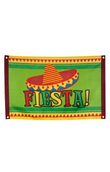 Bandera Mejicana, 90 x 60 cm.