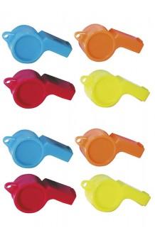 Bolsa 25 Silbatos Plástico
