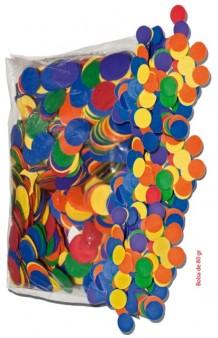 Confetti Extra Grande 22 mm., Bolsa 80 g.