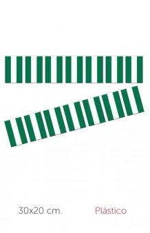 Guirnalda Banderas Andalucía Plástico, 10 m.
