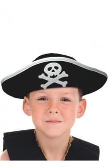 Sombrero Pirata Infantil Classic