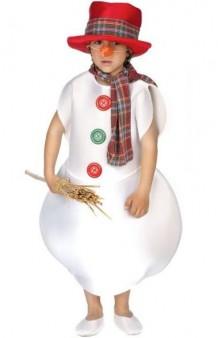 Disfraz Muñeco Nieve