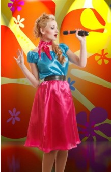 Disfraz Chica Años 50