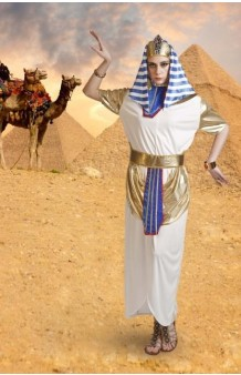 Disfraz Faraona Egipcia. AGOTADO.