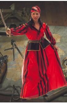 Disfraz Pirata Roja T .U