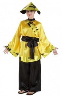 Disfraz China Amarilla
