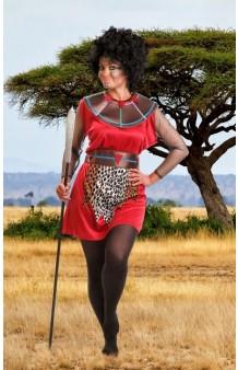 Disfraz Chica Massai