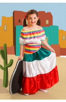 Disfraz Mejicana Ranchera