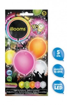 Globos Luminosos Surtido Party LED
