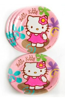 Platos Hello Kitty, 10 uds.