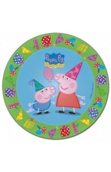 Platos Peppa Pig, 8 uds.