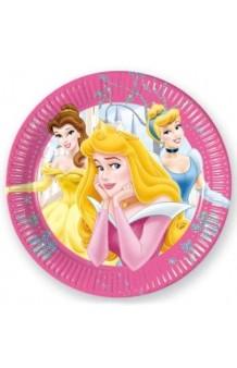 Platos Princesas Disney, 8 uds.