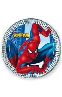 Platos Spiderman, 10 uds. (23 cm.)