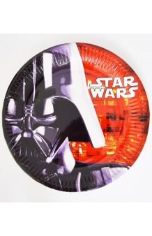 Platos Star Wars 23 cm., 8 uds.