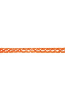 Guirnalda Naranja Trenzada, 400 cm.