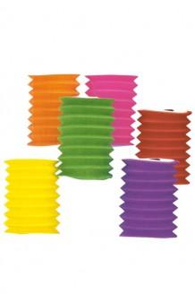 Farol Colores Surtidos Fuelle, 16 cm.