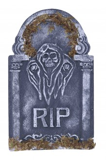 Lápida RIP, 55 cm.
