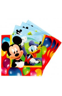 Servilletas Mickey, 20 uds.