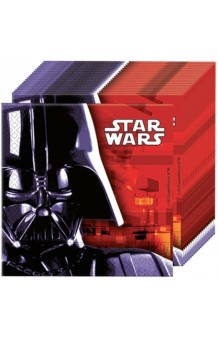 Servilletas Star Wars 33 x 33 cm., 20 uds.