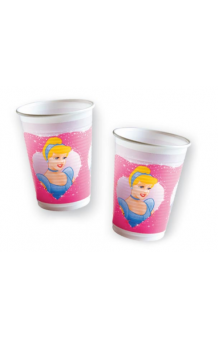 Vasos Princesas Disney, 8 uds.