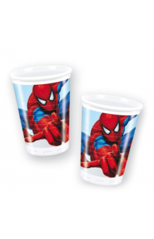Vasos Spiderman, 8 uds.